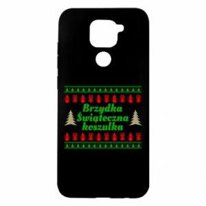 Etui na Xiaomi Redmi Note 9/Redmi 10X Brzydka świąteczna koszulka