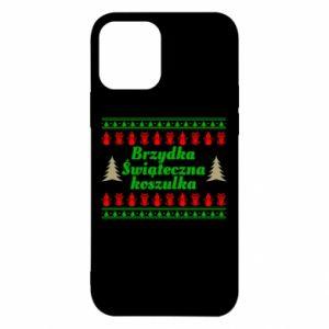 Etui na iPhone 12/12 Pro Brzydka świąteczna koszulka