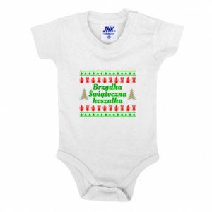 Body dziecięce Brzydka świąteczna koszulka