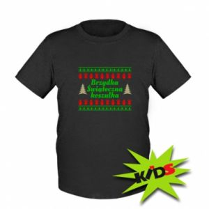 Koszulka dziecięca Brzydka świąteczna koszulka