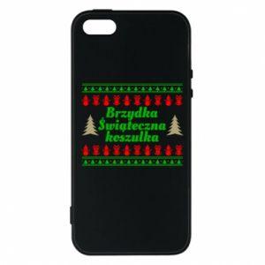 Etui na iPhone 5/5S/SE Brzydka świąteczna koszulka