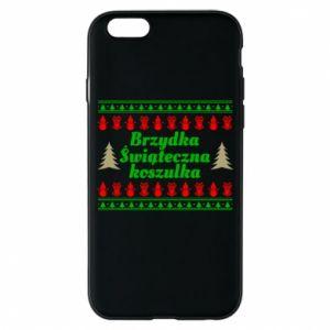 Etui na iPhone 6/6S Brzydka świąteczna koszulka