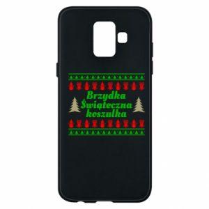 Etui na Samsung A6 2018 Brzydka świąteczna koszulka