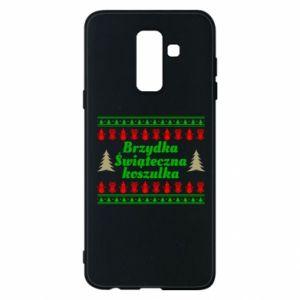 Etui na Samsung A6+ 2018 Brzydka świąteczna koszulka