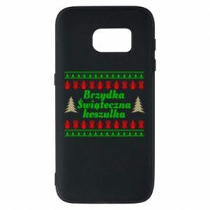 Etui na Samsung S7 Brzydka świąteczna koszulka