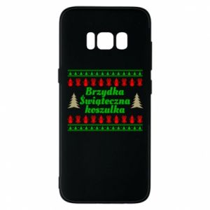 Etui na Samsung S8 Brzydka świąteczna koszulka