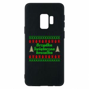 Etui na Samsung S9 Brzydka świąteczna koszulka