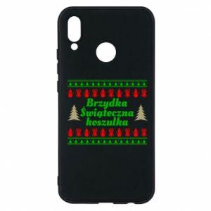 Etui na Huawei P20 Lite Brzydka świąteczna koszulka