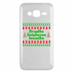 Etui na Samsung J3 2016 Brzydka świąteczna koszulka