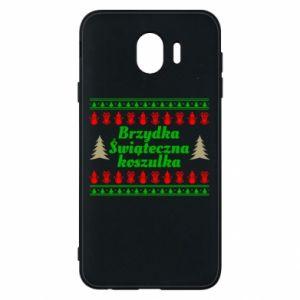 Etui na Samsung J4 Brzydka świąteczna koszulka