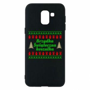 Etui na Samsung J6 Brzydka świąteczna koszulka