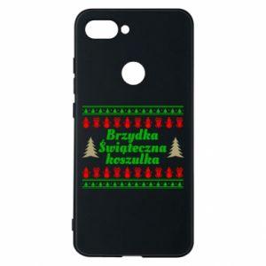 Etui na Xiaomi Mi8 Lite Brzydka świąteczna koszulka