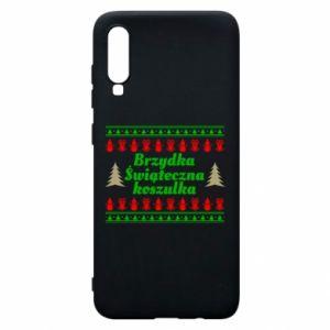 Etui na Samsung A70 Brzydka świąteczna koszulka
