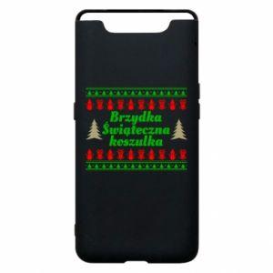 Etui na Samsung A80 Brzydka świąteczna koszulka