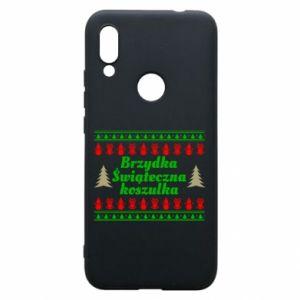 Etui na Xiaomi Redmi 7 Brzydka świąteczna koszulka