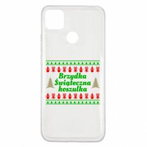 Etui na Xiaomi Redmi 9c Brzydka świąteczna koszulka