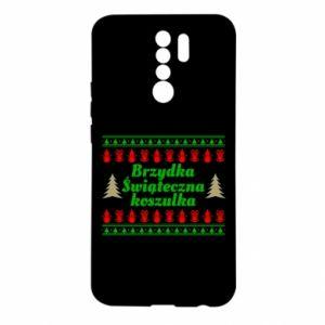 Etui na Xiaomi Redmi 9 Brzydka świąteczna koszulka