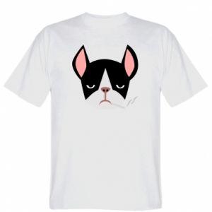 T-shirt Bulldog smoking