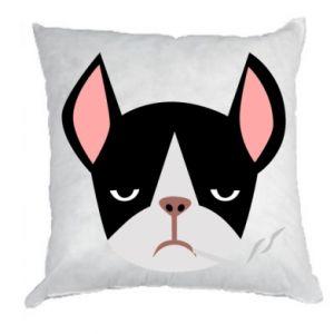 Pillow Bulldog smoking