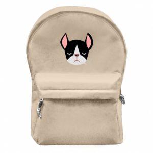 Plecak z przednią kieszenią Bulldog smoking
