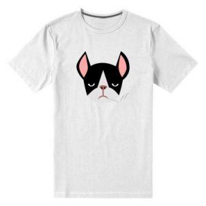 Męska premium koszulka Bulldog smoking