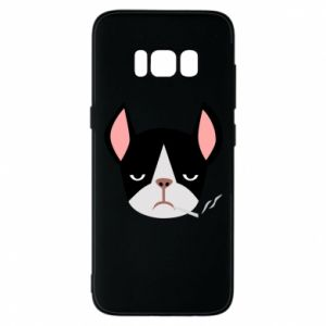 Etui na Samsung S8 Bulldog smoking