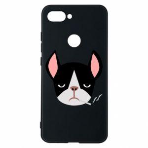 Phone case for Xiaomi Mi8 Lite Bulldog smoking