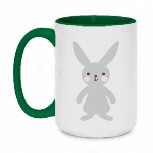 Kubek dwukolorowy 450ml Bunny for her