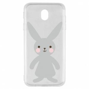 Etui na Samsung J7 2017 Bunny for her