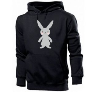 Męska bluza z kapturem Bunny for her