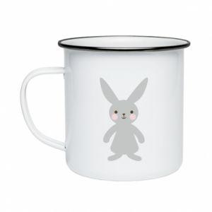 Kubek emaliowany Bunny for her