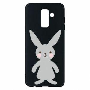 Etui na Samsung A6+ 2018 Bunny for her