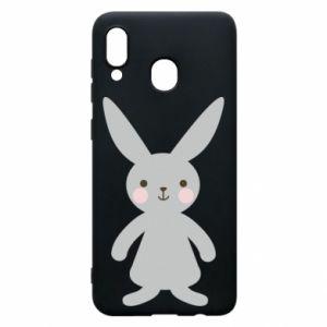 Etui na Samsung A20 Bunny for her