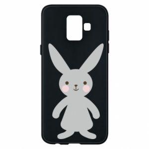 Etui na Samsung A6 2018 Bunny for her