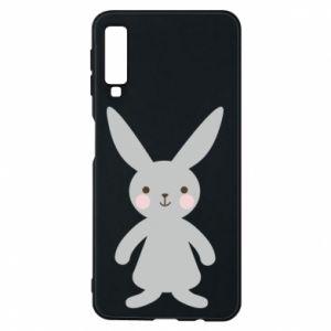 Etui na Samsung A7 2018 Bunny for her