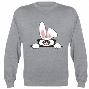 Bluza (raglan) Bunny with glasses