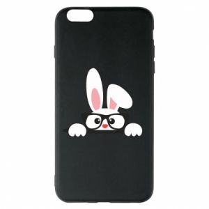 Phone case for iPhone 6 Plus/6S Plus Bunny with glasses - PrintSalon