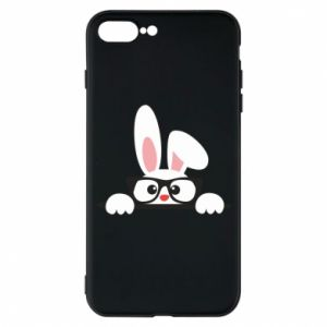 Phone case for iPhone 7 Plus Bunny with glasses - PrintSalon