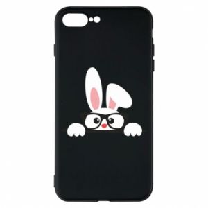 Phone case for iPhone 8 Plus Bunny with glasses - PrintSalon