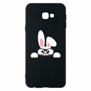 Phone case for Samsung J4 Plus 2018 Bunny with glasses - PrintSalon