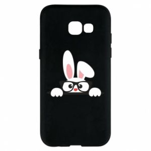 Phone case for Samsung A5 2017 Bunny with glasses - PrintSalon
