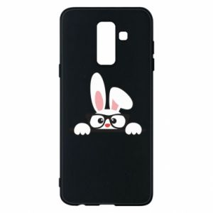 Phone case for Samsung A6+ 2018 Bunny with glasses - PrintSalon
