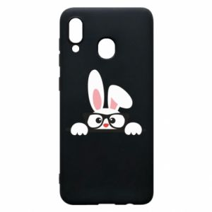 Phone case for Samsung A30 Bunny with glasses - PrintSalon