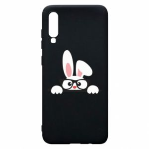 Phone case for Samsung A70 Bunny with glasses - PrintSalon