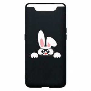 Phone case for Samsung A80 Bunny with glasses - PrintSalon