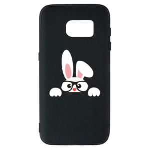 Phone case for Samsung S7 Bunny with glasses - PrintSalon
