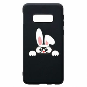 Phone case for Samsung S10e Bunny with glasses