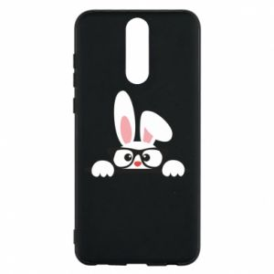 Phone case for Huawei Mate 10 Lite Bunny with glasses - PrintSalon