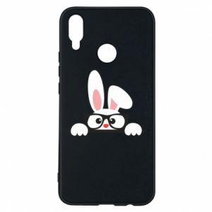 Phone case for Huawei P Smart Plus Bunny with glasses - PrintSalon