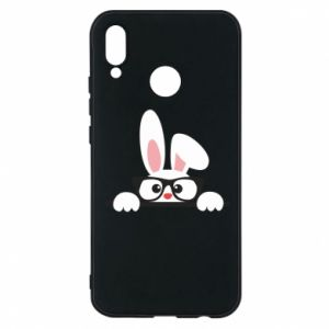 Phone case for Huawei P20 Lite Bunny with glasses - PrintSalon